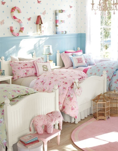 Compact Pottery Barn Kids, Kids Bedroom, Kids Rooms, Toddler Rooms, Girl Bedrooms,  Triplets shabby chic girls bedroom