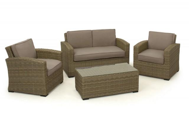 Compact Rattan Sofa Set Dwight Designs rattan sofa set