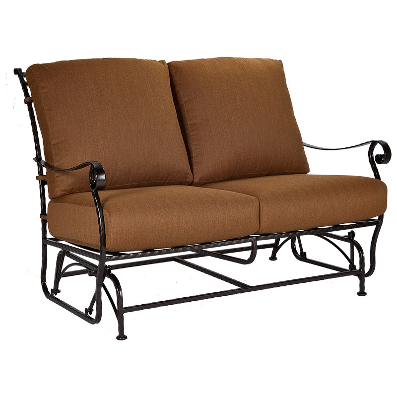 Compact San Cristobal Loveseat Glider glider loveseat patio furniture
