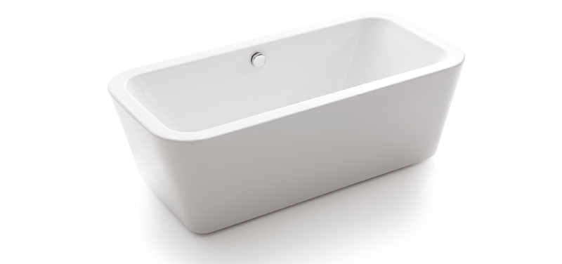 Compact Waters Baths Bracken 1500mm x 800mm Double Ended Small Freestanding Bath small double ended baths