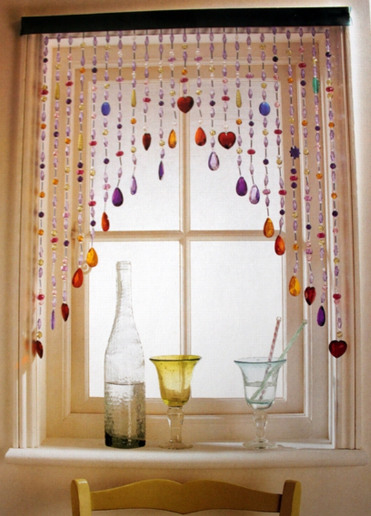 Contemporary 17 best ideas about Multicoloured Kitchen Blinds on Pinterest | Homemade  curtain cool window curtains