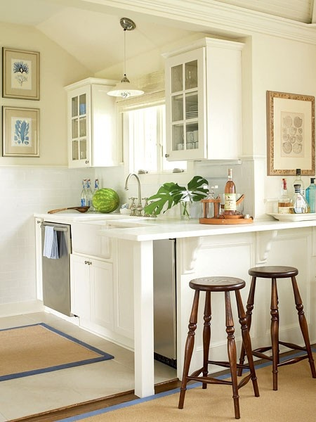 Contemporary 27 Space-Saving Design Ideas For Small Kitchens studio kitchen designs