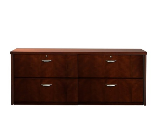 Contemporary AVA Mira Double Lateral Credenza u0026 Storage office credenza with file drawers