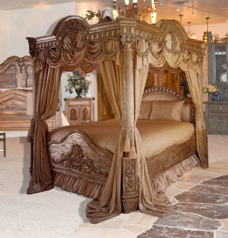 Contemporary Bedroom Sets | Queen Canopy Bedroom Sets - YouTube king size canopy bedroom sets