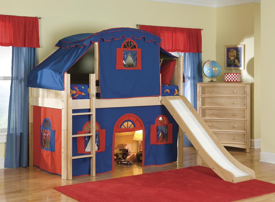 Contemporary Boys Bunk Beds For Kids Room Design Ideas: Nice Kids Bedroom Design beds for boys