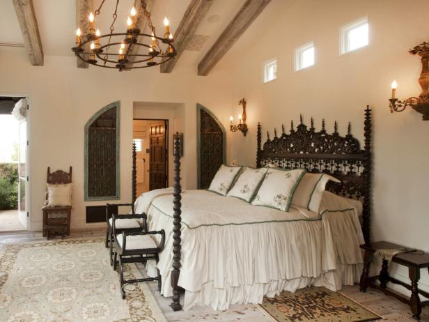 Contemporary DP_Thomas-Oppelt-white-casita-bedroom-old-world-elegance- bedroom ceiling lights
