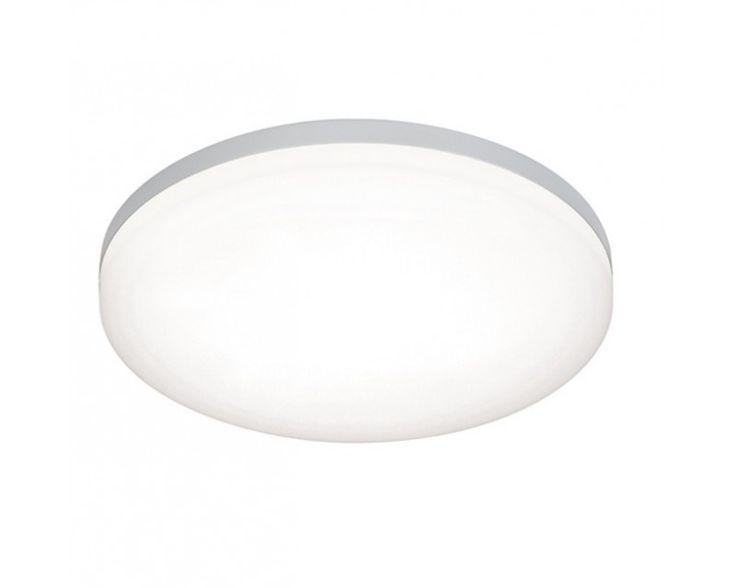 Contemporary Endon 54479 Noble IP44 LED Flush Bathroom Ceiling Light led bathroom ceiling lights