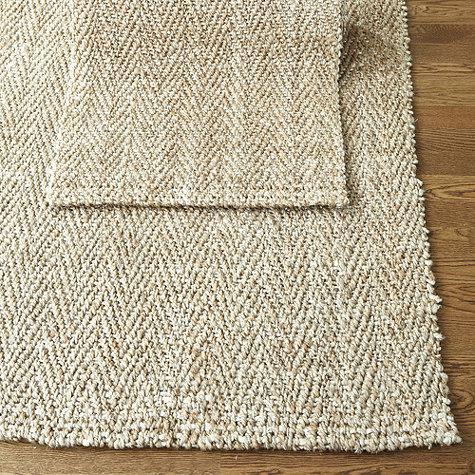 Contemporary Herringbone Jute Natural Fiber Rug soft natural fiber rugs