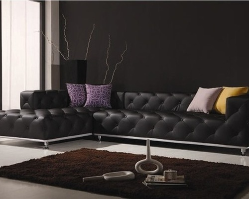 Modern SaveEmail contemporary leather sofa