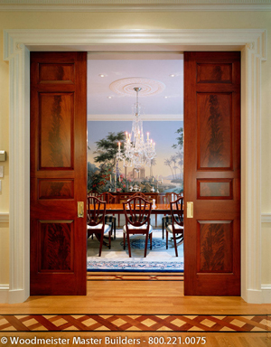 Contemporary Make sure the hardware is adjustable for both plumb and level - custom pocket doors