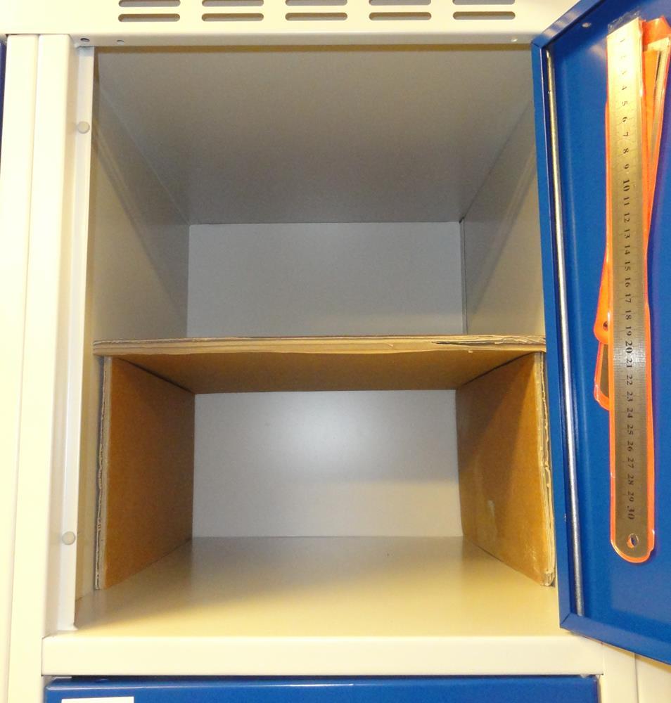 Contemporary Simple and Cheap Locker Shelf: 3 Steps wooden locker shelves