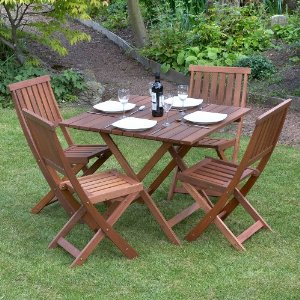 Contemporary Solid Wood Transitional 7PC Dining Room Table Chair Set . wooden garden table and chairs