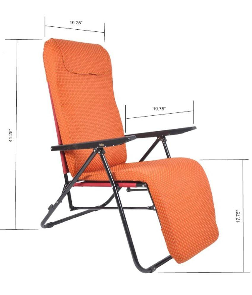 Contemporary Tulip Recliner Portable Chair - Orange Tulip Recliner Portable Chair - tulip recliner chair