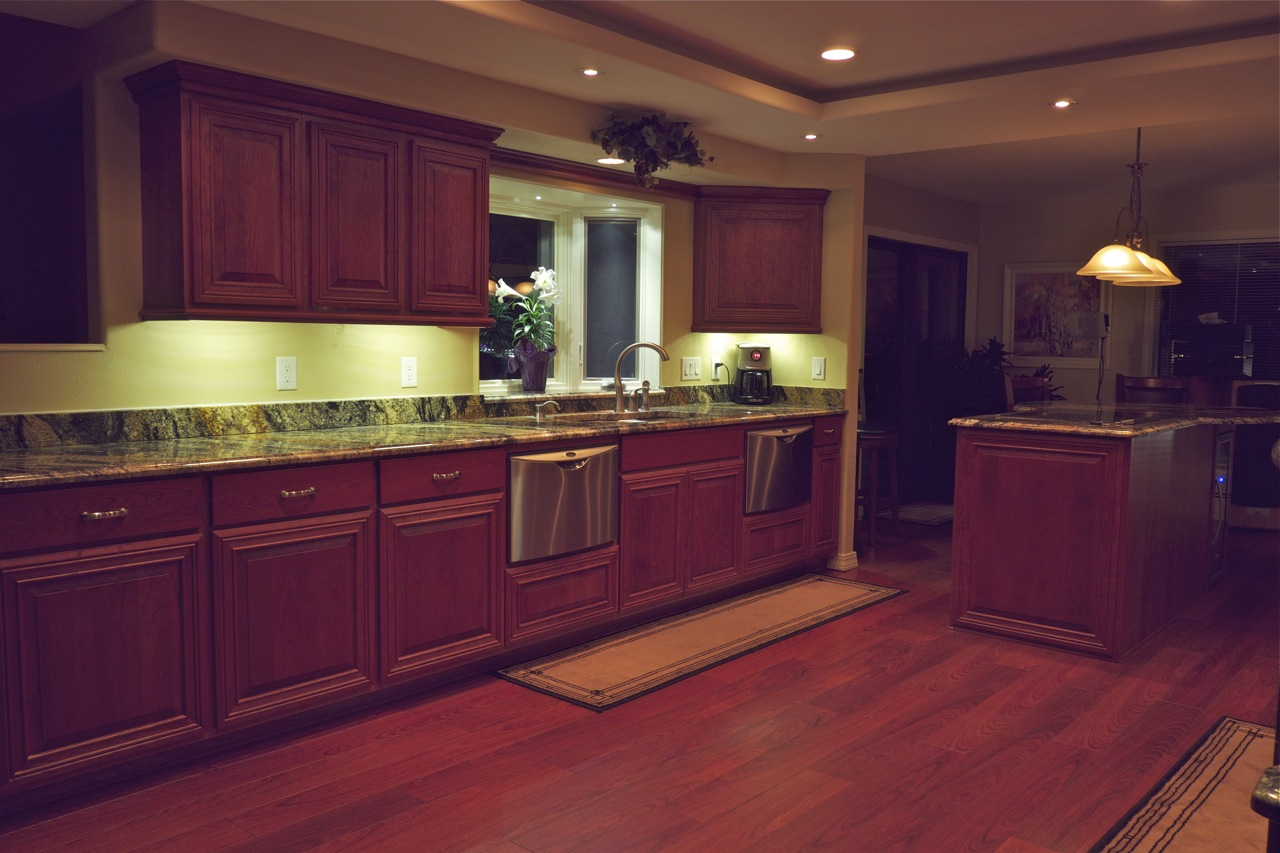 led lighting for kitchen cabinets led kitchen lighting benefits to install in your home 8949