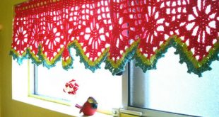 Cool 14 crochet kitchen curtains