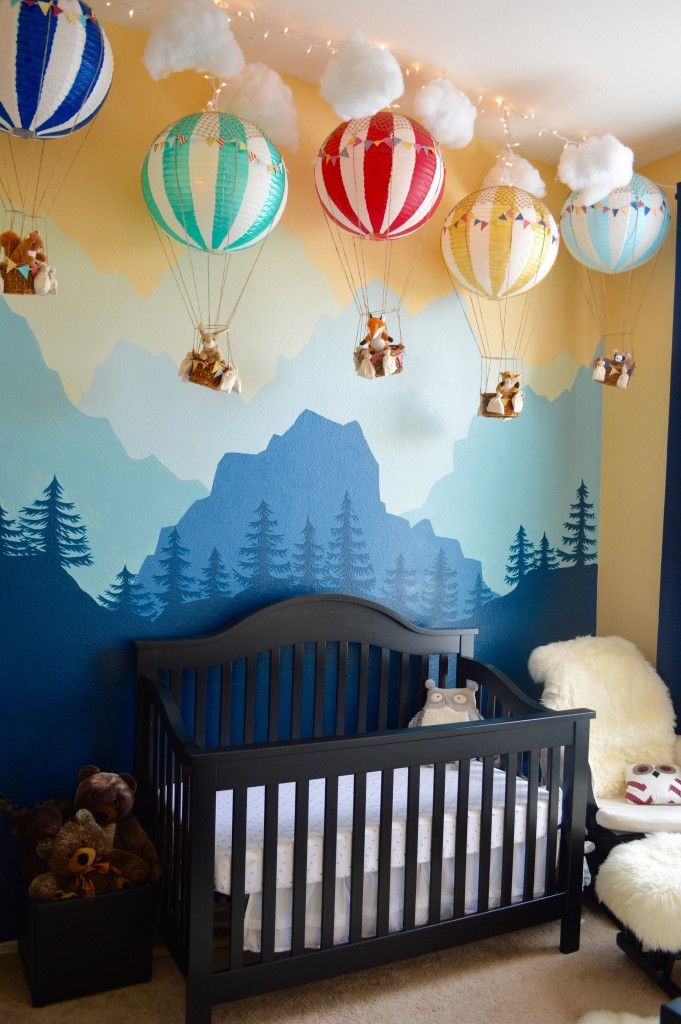 Cool 641 best images about Nursery Decorating Ideas on Pinterest | Neutral wall design for baby boy room