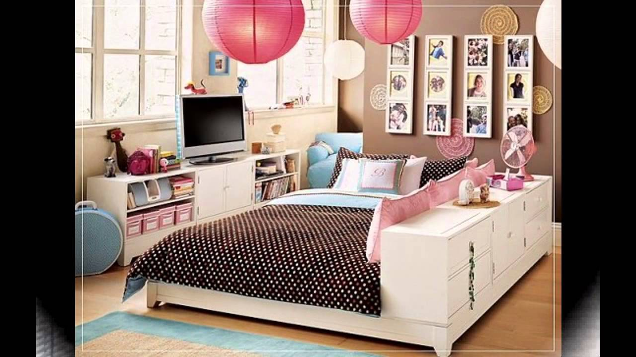 Amazing Cool Teenage girl bedroom ideas for small rooms - YouTube cool bedroom ideas for teenage girl