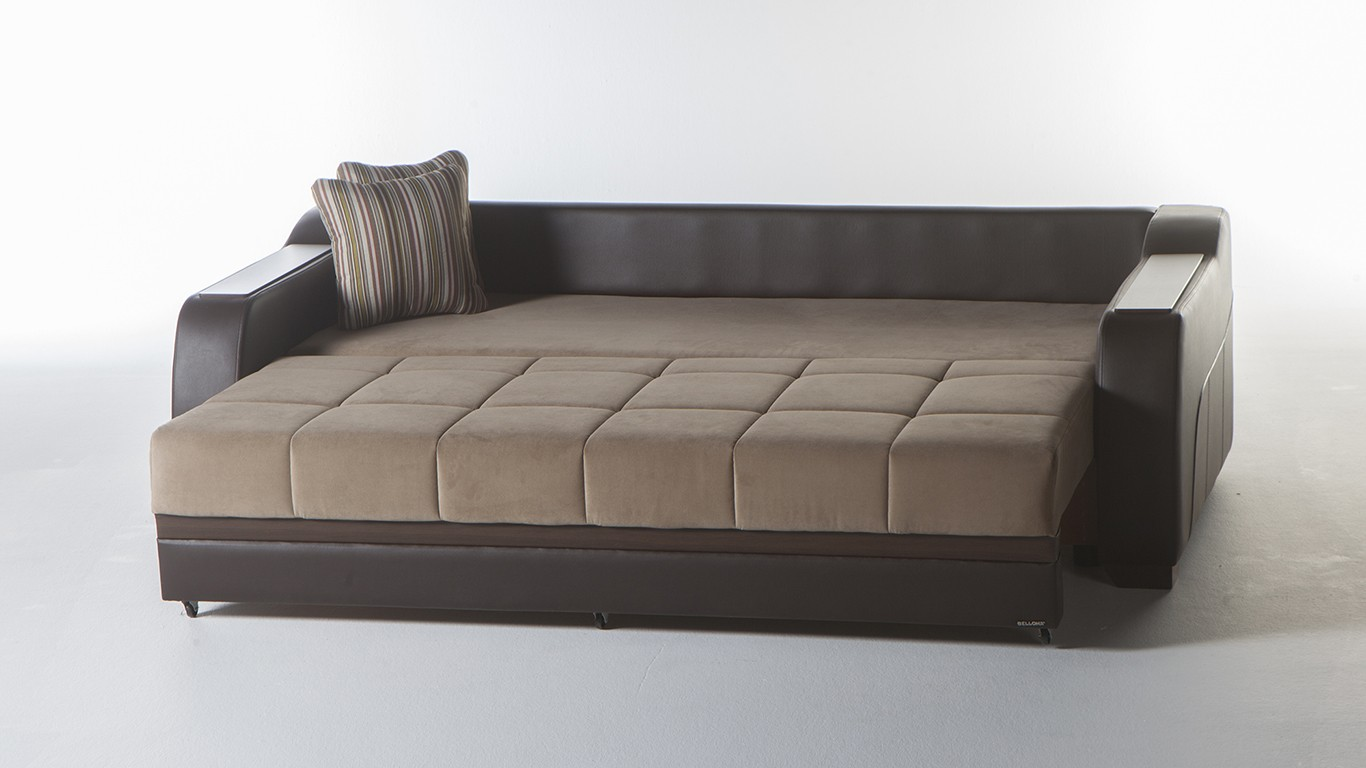 Cool ... CADO Modern Furniture - ULTRA Sofa Bed with Storage ... sofa bed with storage