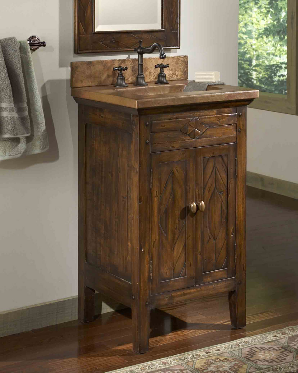 Cool Country Bathroom Vanities Infuse Your Bathroom country style bathroom vanities and sinks