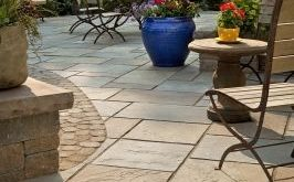 Cool Create an outdoor living space with patios, walls and fire pits Bucks outdoor patio flooring