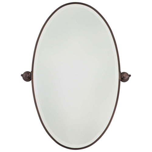 Cool Dark Brushed Bronze Oval Mirror bronze oval mirrors bathroom