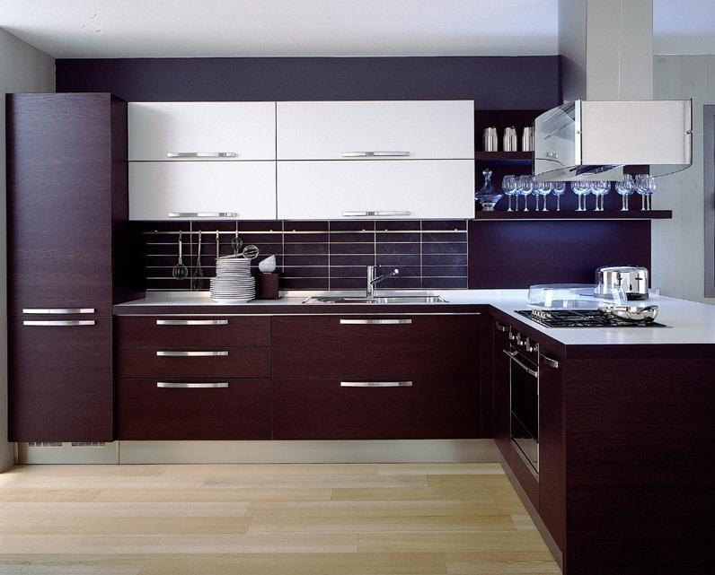 Cool dark wood modern kitchen cabinetsBest of Gallery Design Kitchen Ideas Dark  Wood modern kitchen cabinet ideas