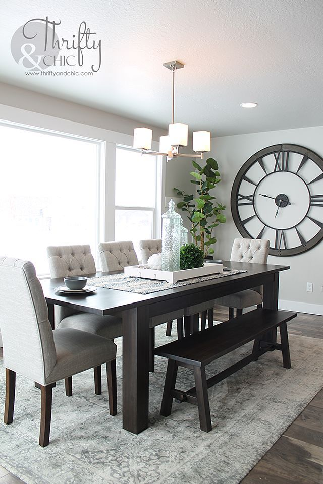 Cool DIY Projects and. Huge ClockBig ClocksWall ClocksDining Room DecoratingRoom  ... dining room decor