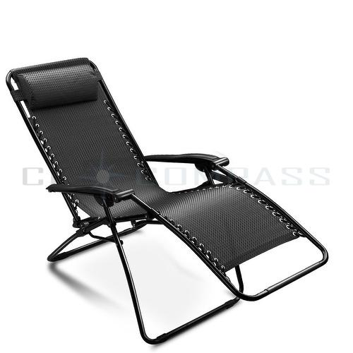 Cool Folding Lounge Chairs Recliner Zero Gravity Outdoor Beach Patio Garden Yard reclining garden chairs