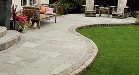 Cool Garden Paving patio paving stones