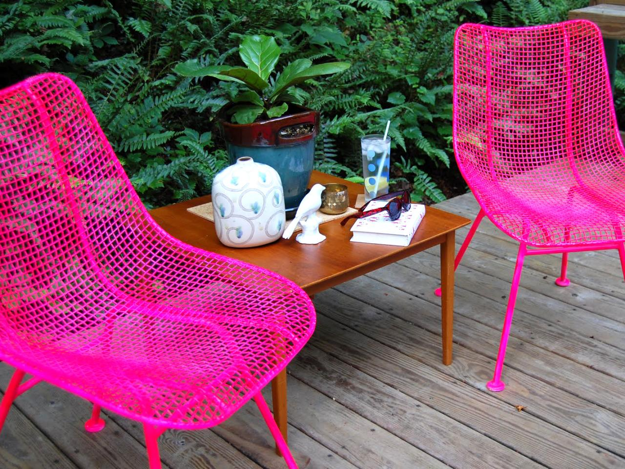 Cool How to Paint Metal Chairs painting outdoor metal furniture