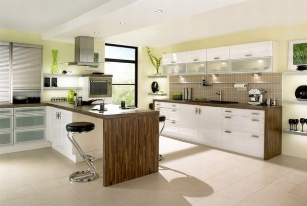 Cool Kitchen design ... modern kitchen cabinet design