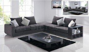 Cool Modern Gray Sectional Sofa modern gray sectional sofa