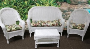 Cool Patio Set Cushions u201cTufted Styleu201d wicker furniture cushions