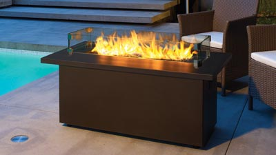 Cool Regency® Plateau® PTO30CFT Outdoor Gas Firetable gas outdoor fireplace