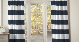 Cool ... Remarkable Blue Striped Curtains Navy Blue And White Striped Curtains  Navy navy blue and white striped curtains