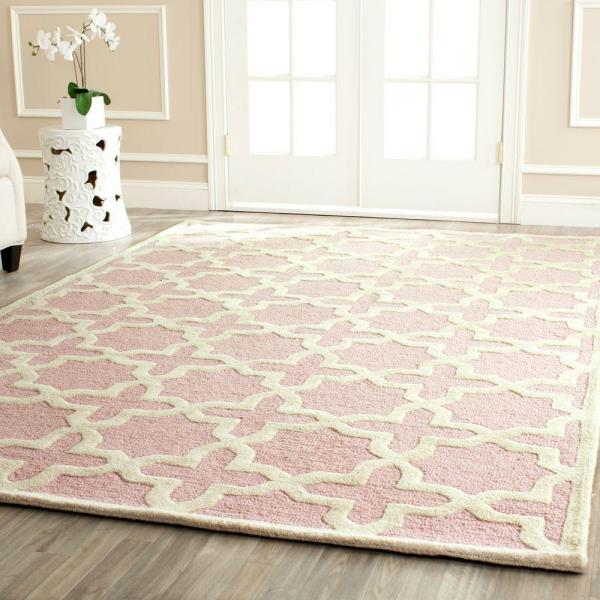 Attractive Pink Rug for your home