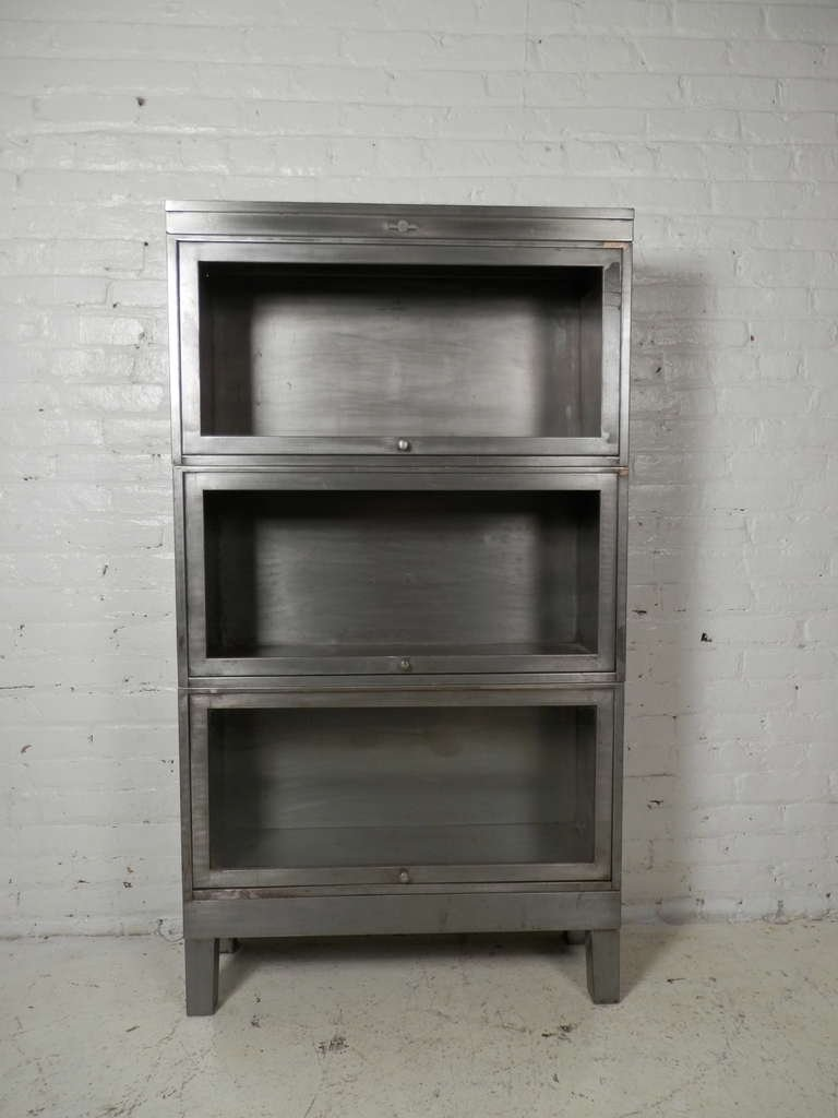 Cool Stackable Metal Barrister Bookcase by Globe Wernicke 3 metal barrister bookcase