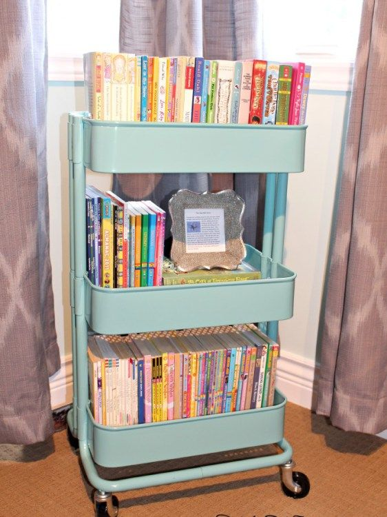 Cool Storage Ideas : The Best Little Cart Everu2026 Ikea Kids PlayroomIkea ... book storage ideas for kids room