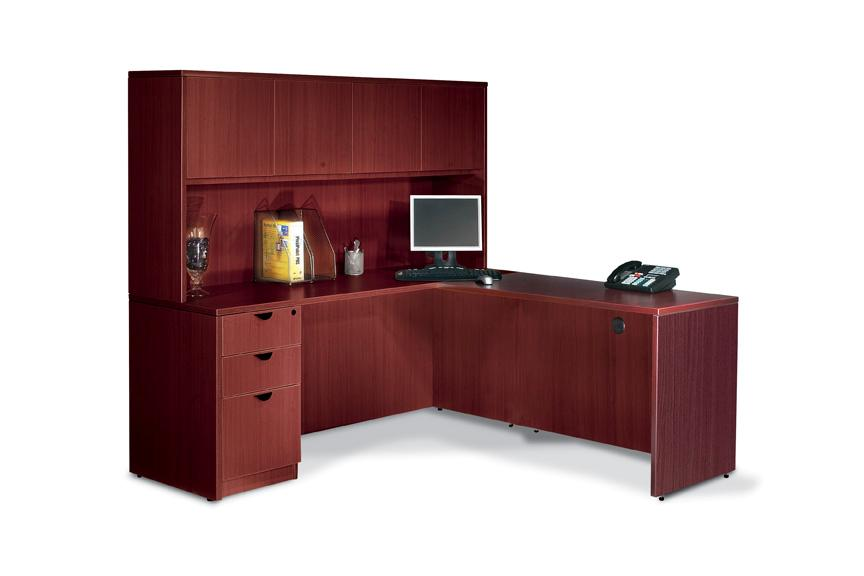 Cool Store Categories office desk with hutch