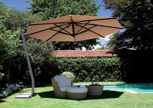 Cool The height of an offset patio umbrella of your interest should be offset patio umbrella