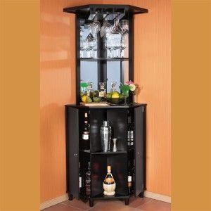 Cozy corner+bar+cabinet+++wine+rack | Wooden Corner Bar review corner bar furniture for the home