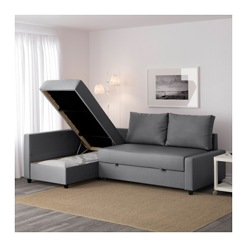 Best ... IKEA FRIHETEN corner sofa-bed with storage Sofa, chaise longue and  double corner sofa bed with storage