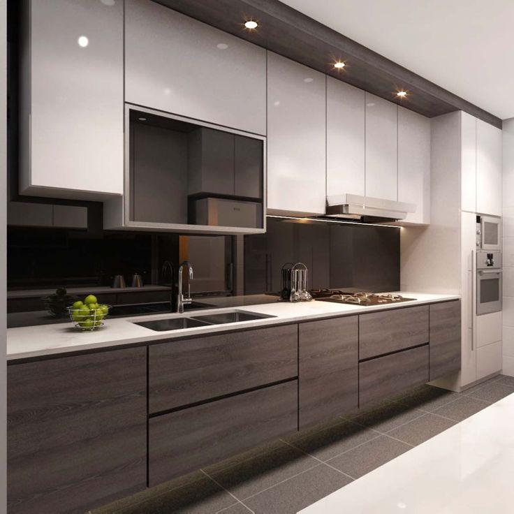 Cozy 25+ best ideas about Modern Kitchen Cabinets on Pinterest | Modern kitchens, modern kitchen cabinet ideas
