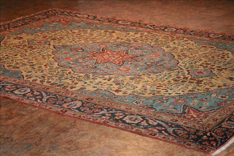 Cozy 416 Tabriz rugs - This Traditional rug is approximately 7u00276 traditional wool rugs