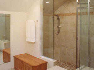 Cozy a walk-in shower with no doors walk in showers without doors