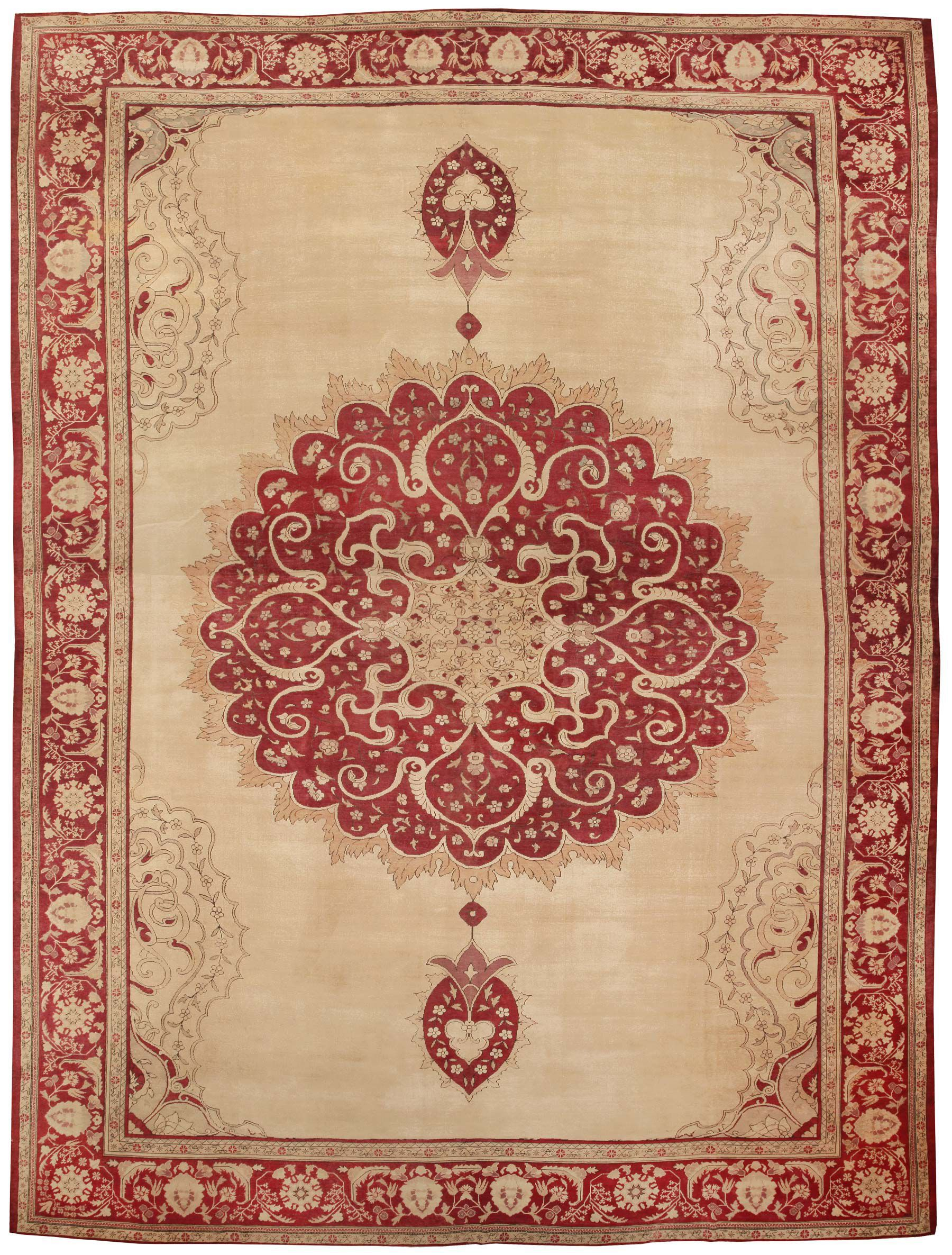 Cozy Antique Giordes Turkish Rug 565 Detail/Large View turkish carpets