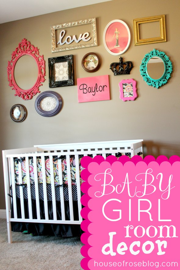 Cozy baby girl room ideas decorating.. Super cute idea for a little baby girls baby girl room wall decor