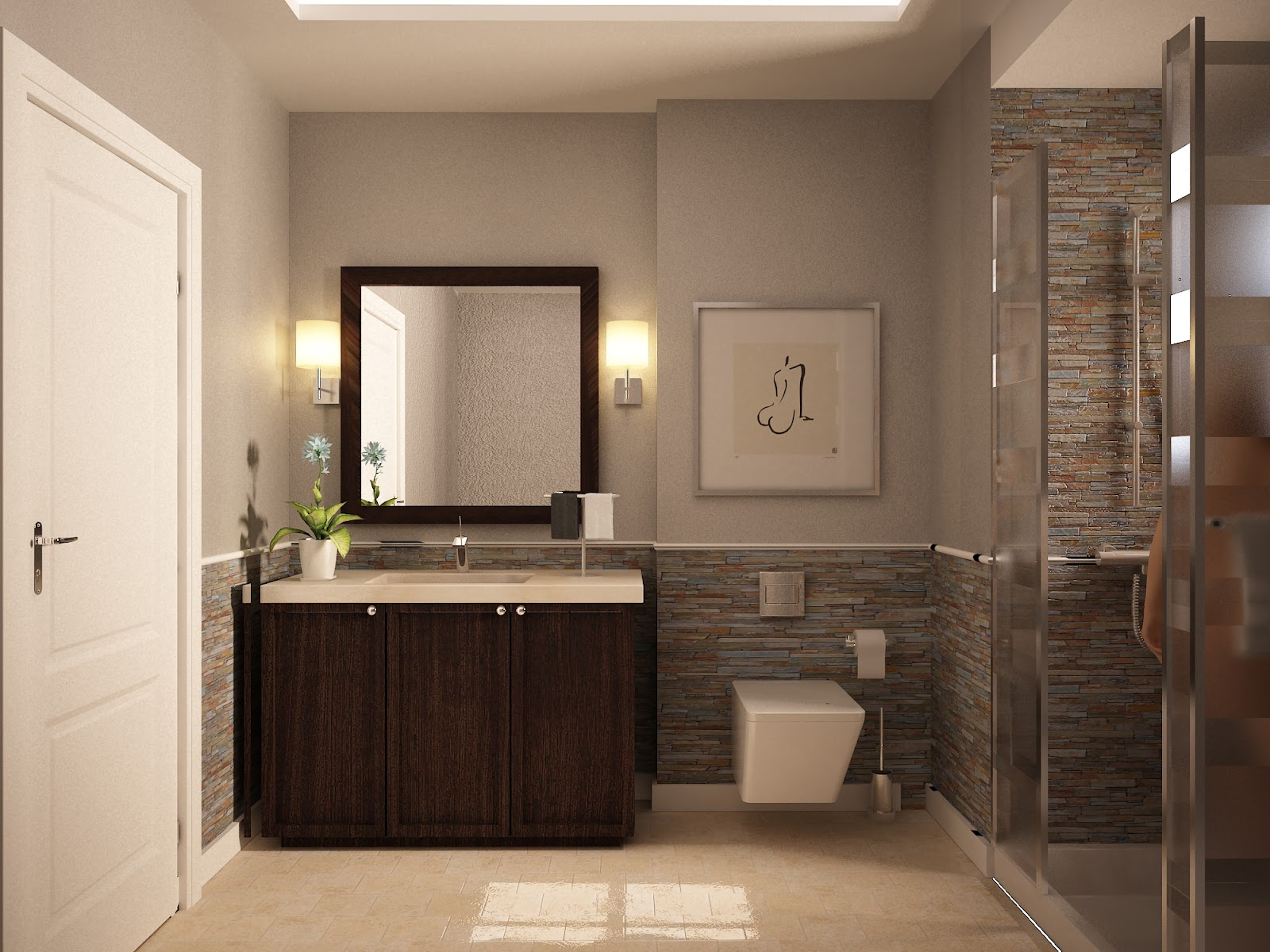 Cozy best bathroom paint colors | Elegant Small Bathroom Color Schemes With bathroom paint colors for small bathrooms