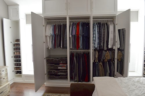 Cozy DIY Custom Closet Built-In Wardrobe custom built wardrobe closets