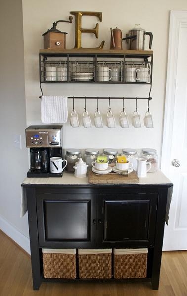 Cozy diy home coffee bar home coffee bar furniture